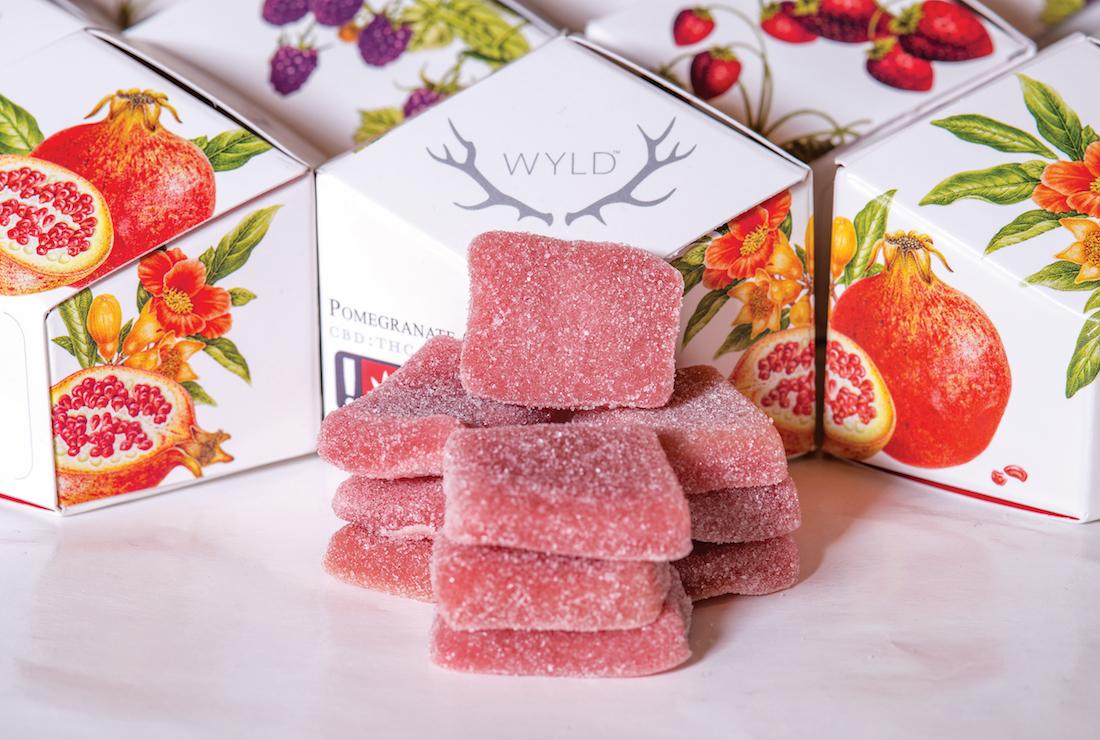 Pomegranate 1:1 Gummies by WYLD
